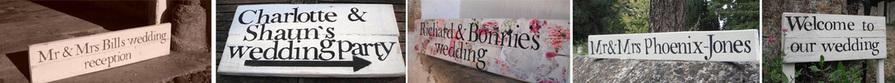 Wedding signs - MR & MRS